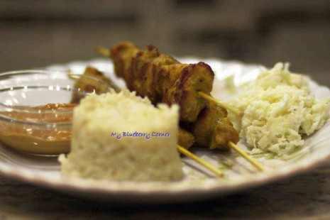 Kurczak Satay