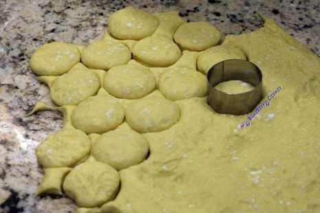 Lekkie pączki z pieca