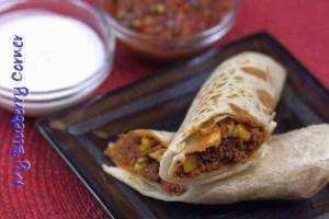 Burrito w pszennej tortilli