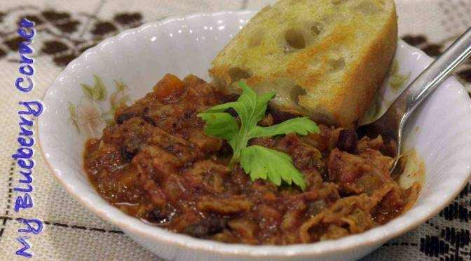 Toskańska zupa kapuściana z fasolą