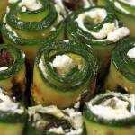 <span>Roladki</span> z cukinii – Involtini di zucchini