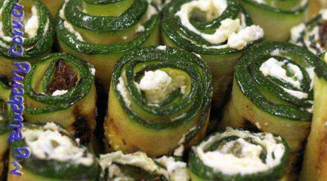 Roladki z cukinii Involtini di zucchini
