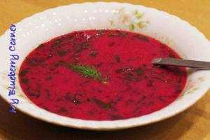 Botwinka - wiosenna zupa