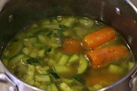 Zupa krem z cukinii z kurczakiem