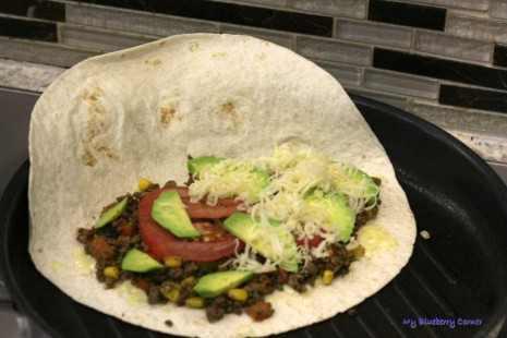 Quesadillas z wołowiną