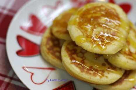 Pankejki czyli amerykańskie pancakes.
