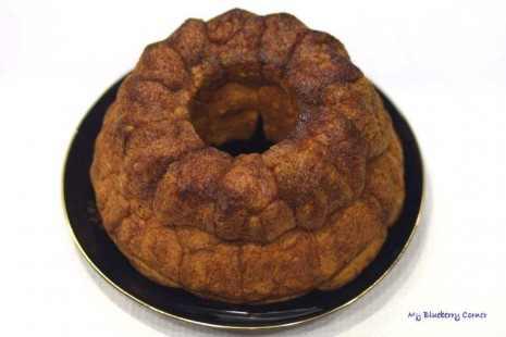Drożdżowy dyniowy małpi chleb