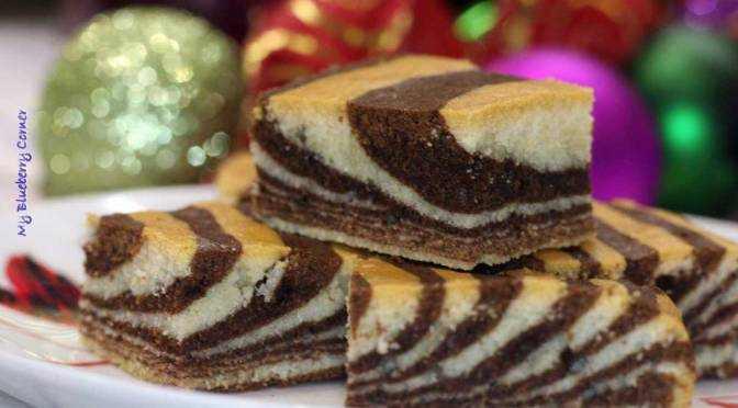Zebra ciasto z dzieciństwa