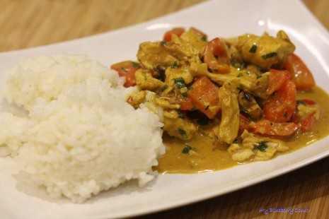 Tajskie curry