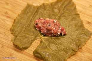 Faszerowane liście winogron