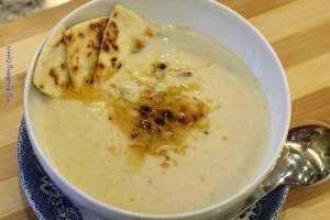 Zupa krem ze szparagów i bietoli