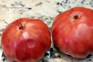 Pomidorowe risotto z cukinią