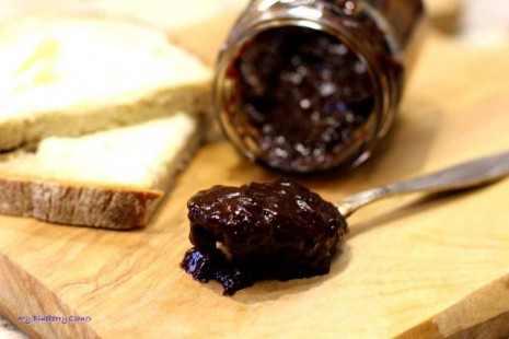 Śliwki w czekoladzie smarowidło