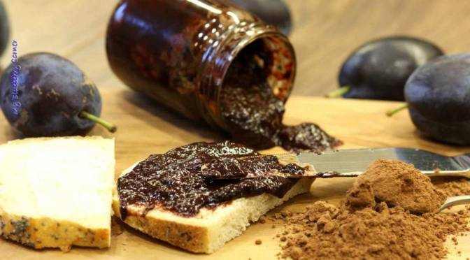 Śliwki w czekoladzie – smarowidło
