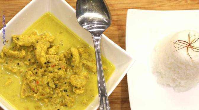 Curry ze świeżą kurkumą