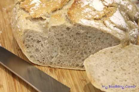 Łatwy chleb z zakwasem