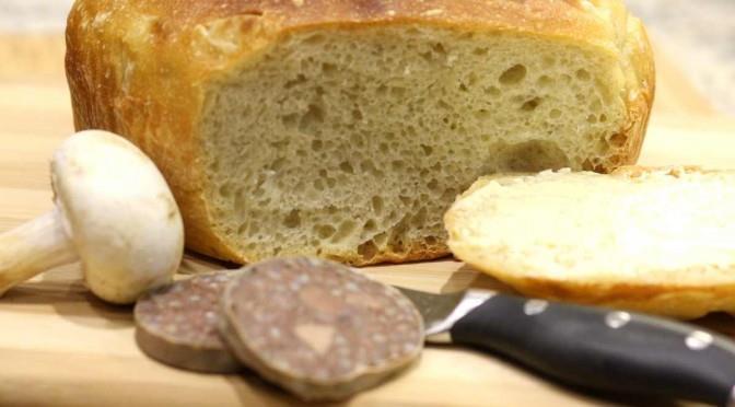 Łatwy pszenny chleb