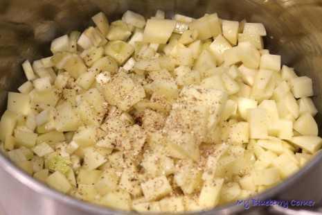 Szpinakowa zupa krem