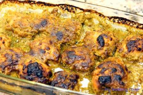 Udka kurczaka w sosie musztardowo-klonowym