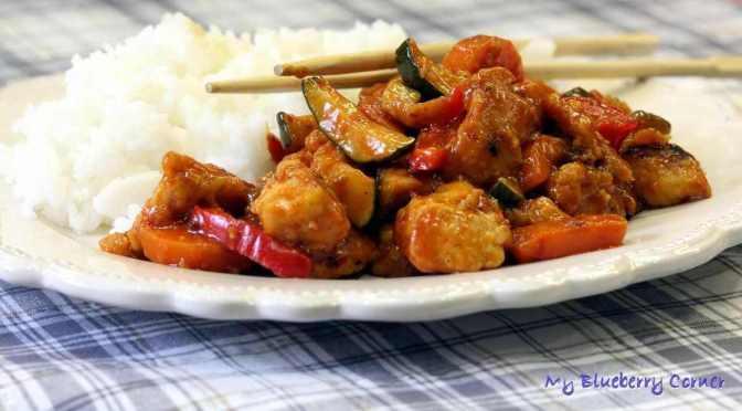 Kurczak w stylu Hunan