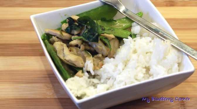 Zielone, tajskie curry