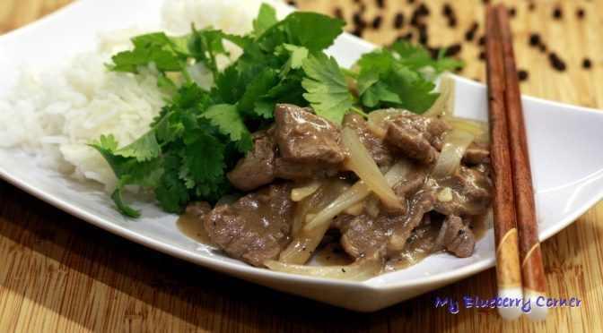 Wołowina w pieprzowym sosie