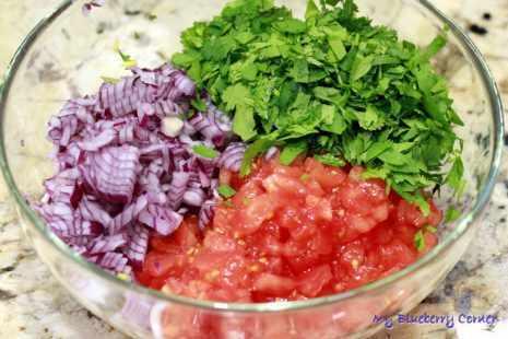 Pico de gallo, salsa fresca - czyli salsa ze świeżych pomidorów