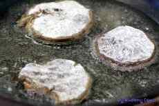 Smażone, suszone grzyby na wigilię