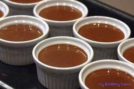 Czekoladowy crème brûlée