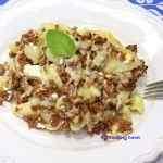 <span>Makaronowa zapiekanka</span> z wołowiną