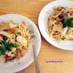 <span>Makaron</span> z warzywami i tuńczykiem