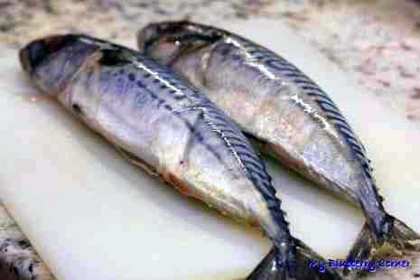 Chrupiące kąski z makreli