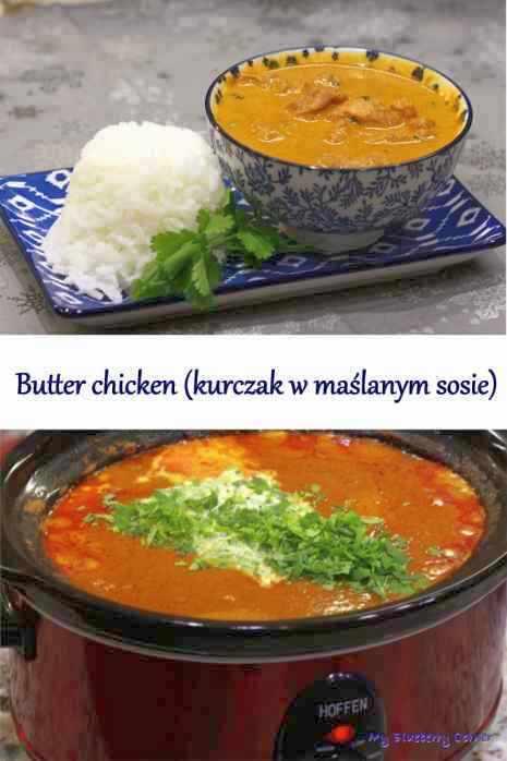 Butter chicken (kurczak w maślanym sosie)