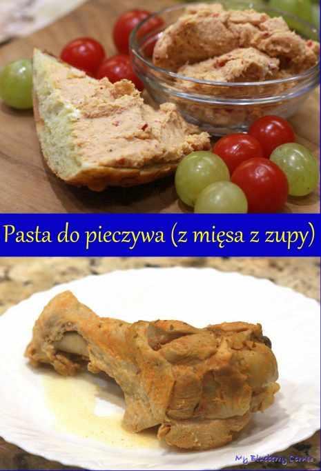 Pasta do pieczywa (z mięsa z zupy)