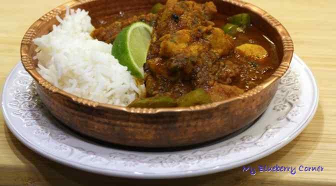 Pathia curry z kurczakiem