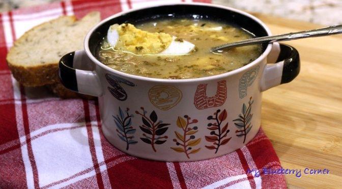 Zalewajka pyszna zupa