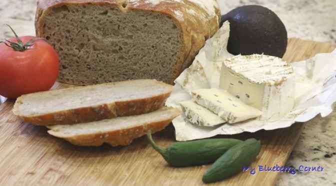 Pszennożytni chleb ze słonecznikiem